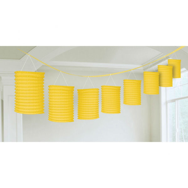 Lantern Garland Yellow 365 cm